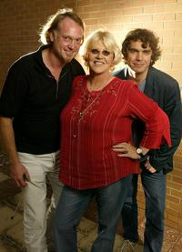 John Trapman, Bonnie Bramlett and Producer Gavin Poolman at the 2003 Toronto International Film Festival.
