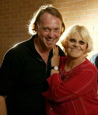 John Trapman and Bonnie Bramlett at the 2003 Toronto International Film Festival.