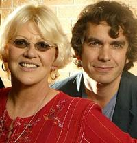 Bonnie Bramlett and Producer Gavin Poolman at the 2003 Toronto International Film Festival.