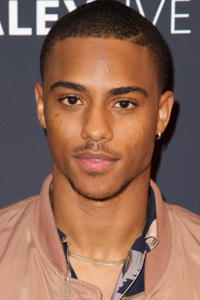Keith Powers at a screening of