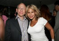 Bob Balaban and Daphne Ruben-Vega at the screening of