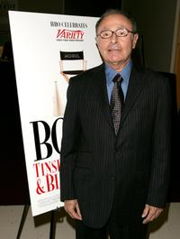 Peter Bart at the premiere of
