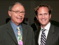 Peter Bart and CEO of Miramax Books Rob Weisbach at the cocktail party hosted by Harvey and Bob Weinstein and Miramax Books to celebrate Peter Bart's new book