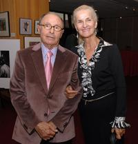 Peter Bart and Phyllis Fredette at the AMPAS salute to Robert Evans.