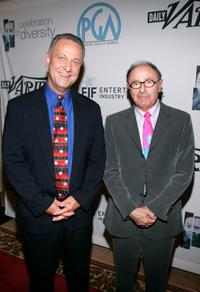 Vance Van Patten and Peter Bart at the Producers Guild of America's 3rd Annual Celebration of Diversity.