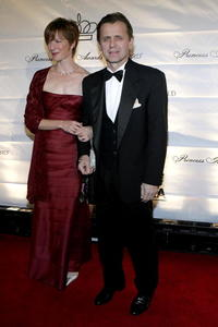 Mikhail Baryshnikov and his wife Lisa Rinehart at the 2005 Princess Grace Foundation-USA Awards Gala.