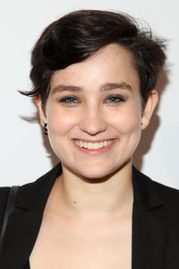 Bex Taylor-Klaus at the Comic-Con International 2017 Fandango opening night party in San Diego.