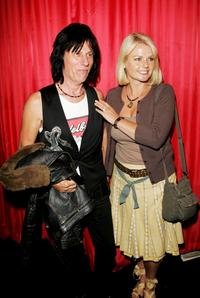 Jeff Beck and Guest at the Electric Ballroom to attend Paul McCartney exclusive gig.