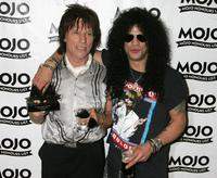 Jeff Beck and Slash at the MOJO Honours List 2005, the music magazine's second annual awards.