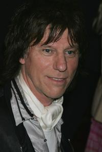 Jeff Beck at The MOJO Honours List 2005, the music magazine's second annual awards.