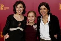 Nicoletta Braschi, Camille Dugay Comencini and Francesca Comencini at the 54th Berlinale International Film Festival for the photocall of