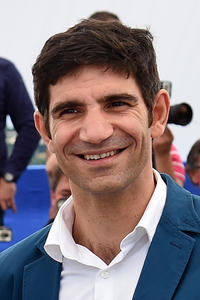 Adrian Purcarescu at the 'Treasure' photocall during the 68th annual Cannes Film Festival.