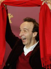 Roberto Benigni at the 56th Berlin International Film Festival (Berlinale).