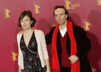 Roberto Benigni and Nicoletta Braschi at the 56th Berlin International Film Festival (Berlinale).