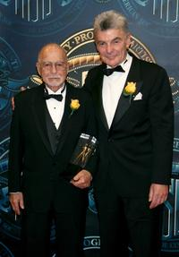Richard Benjamin and Cinematographer Gerald Hirschfeld at the 21st Annual ASC Achievement Awards.