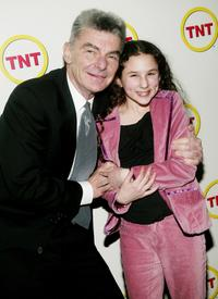 Richard Benjamin and actress Hallie Kate Eisenberg at the screening of