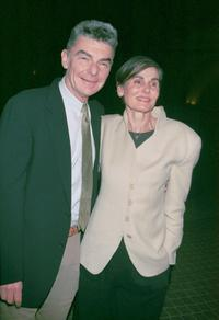 Richard Benjamin and wife Paula Prentiss at the premiere screening of