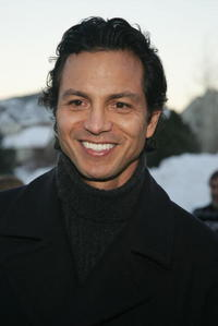 "Benjamin Bratt at the premiere of ""Thumbsucker"" in Park City, Utah."