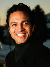Benjamin Bratt at the premiere of