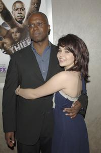 Andre Braugher and Mae Whitman at the premiere screening of