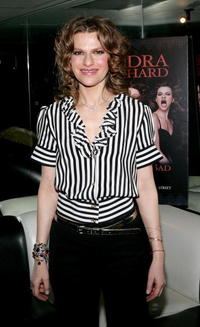 Sandra Bernhard at the opening night of