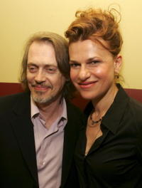 Sandra Bernhard and Steve Buscemi at the after party for the special screening of