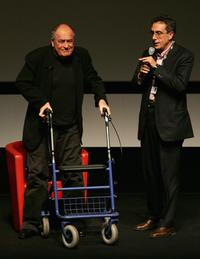 Bernardo Bertolucci at the 2nd Rome Film Festival.