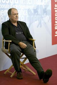 Bernardo Bertolucci at the 60th International Venice Film Festival.