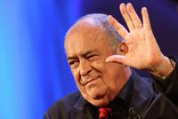 Bernardo Bertolucci as he receives a special award during the 64th Venice International Film Festival.