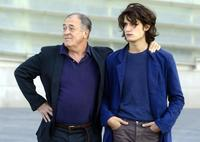 Bernardo Bertolucci and Louis Garrelat the International Film Festival screening of