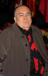 Bernardo Bertolucci at the Fine Arts Golden Medals ceremony.