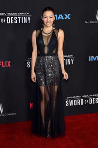 JuJu Chan at the California premiere of