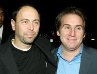 Alex Gartner and Mike Binder at the premiere of