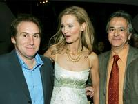 Mike Binder, Joan Allen and Russell Schwartz at the premiere of