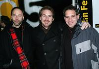 Producer Alex Gartner, Mike Binder and Jack Binder at the premiere of