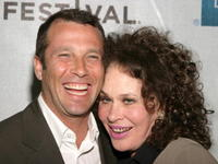 Paul Black and Karen Black at the world premiere of
