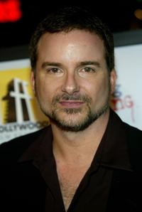 Shane Black at the premiere of