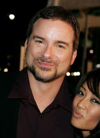 Shane Black and Rodene Ronquillo at the premiere of