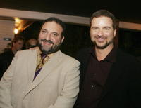 Producer Joel Silver and Shane Black at the after party of the premiere of