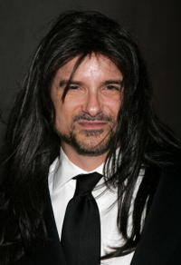 Shane Black at the Halloween Mansion Party.