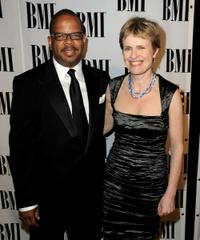 Terence Blanchard and Rachel Portman at the 2010 BMI Film and Television Awards.