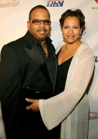 Terence Blanchard and Robin at the 2009 MusiCares Person of the Year Tribute to Neil Diamond.