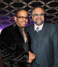 Terence Blanchard and Joe Lovano at the 2009 Grammy's 2009 Salute to Jazz.