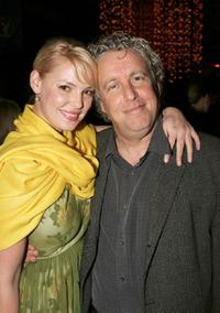 Katherine Heigl and Barry W. Blaustein at the after party of the premiere of