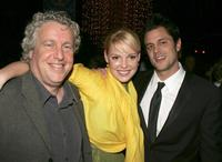 Barry W. Blaustein, Katherine Heigl and Johnny Knoxville at the after party of the premiere of