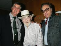 Peter Bogdanovich, Dan Ford and Harry Carey at the 50th anniversary screening of