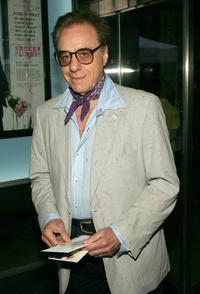 Peter Bogdanovich at New York premiere of