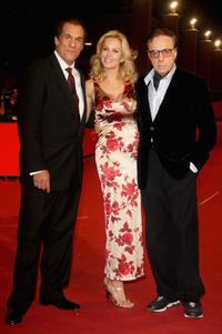 Peter Bogdanovich, Eloise DeJoria and Peter Bogdanovich at 2nd Rome Film Festival for the premiere of