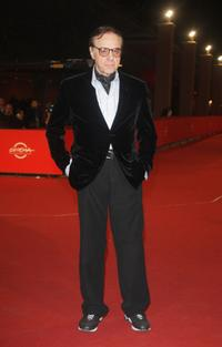 Peter Bogdanovich at 2nd Rome Film Festival for the premiere of