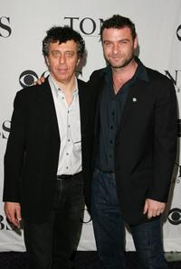 Eric Bogosian and Liev Schreiber at the 2007 Tony Awards nominees press reception.